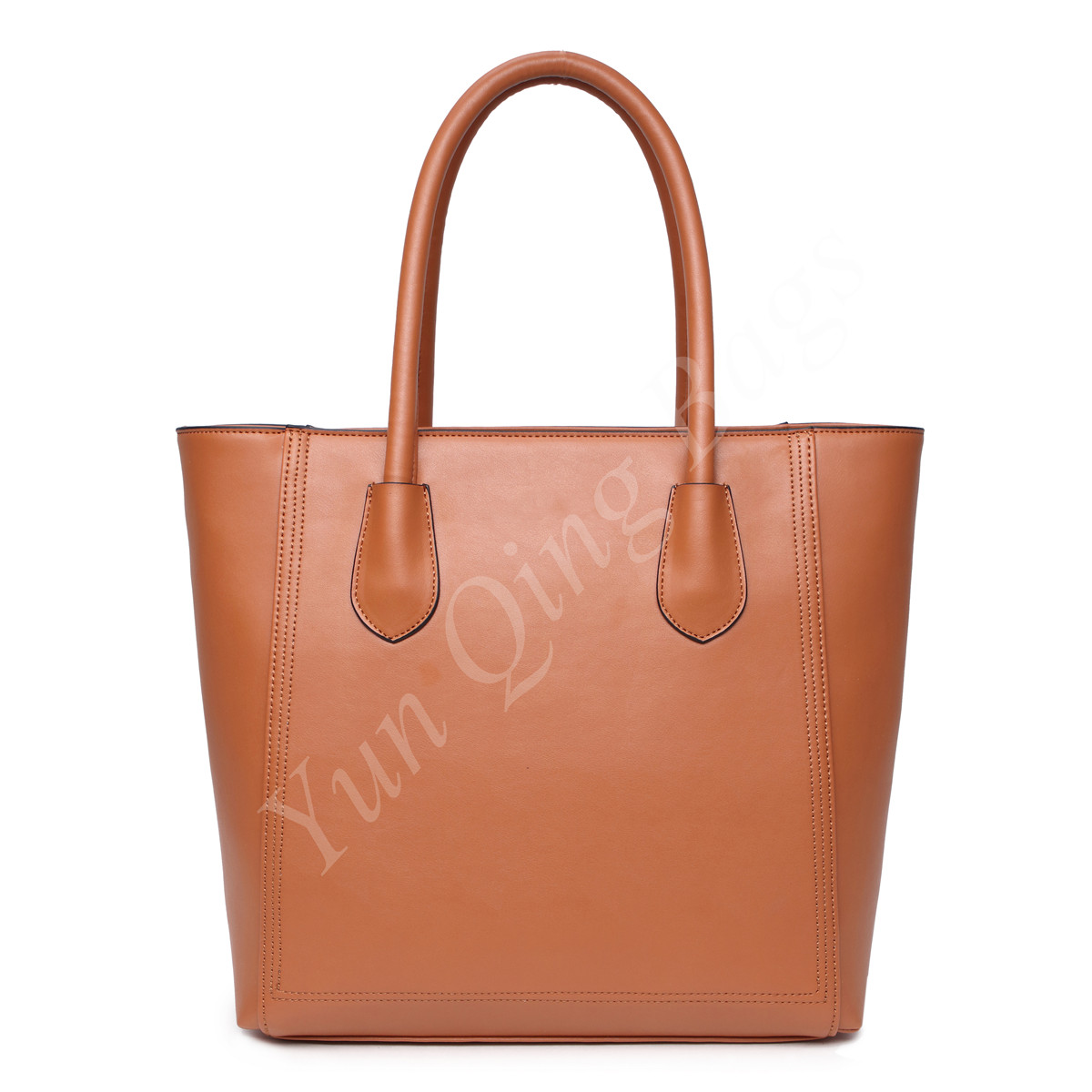 Classic Vertical Shopping Tote Handbag for Women