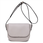 Hot Selling Plain PU Crossbody Bag for Girls- Candy Color