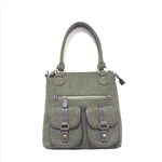 Leisure Ethnic Canvas Shoulder Handbag
