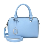 Fashionable Girl Boston Bag with Front Hanger