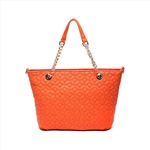 Quilted PU Ladies Tote Bag
