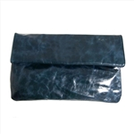Folded Leather Clutch Bag & Evening Clutch