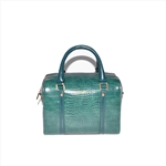 Green Boston Bag Fashion Handbag