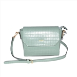 Croco PU Woman Sling Clutch Bag