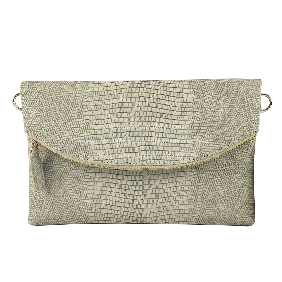 Fold-over Crossbody Clutch Bag