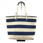 Canvas PU Reversible Tote Bag