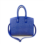 Large Capacity Fashion Satchel Bag With Studs