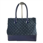 velveteen Lady Handbag with Rhombus Quilting