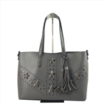 Pentagram Studded Shoulder Bag