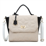 Fashion Lady Satchel Bag with Classic Quilting