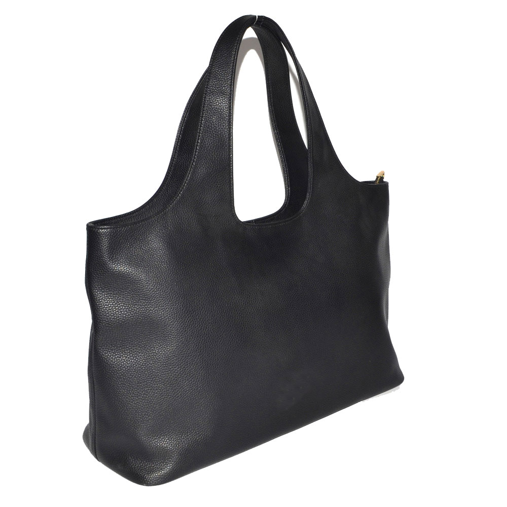 Black Large Hobo Bag