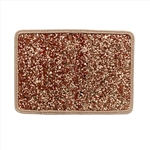 Glitter Cardholder With French Binding