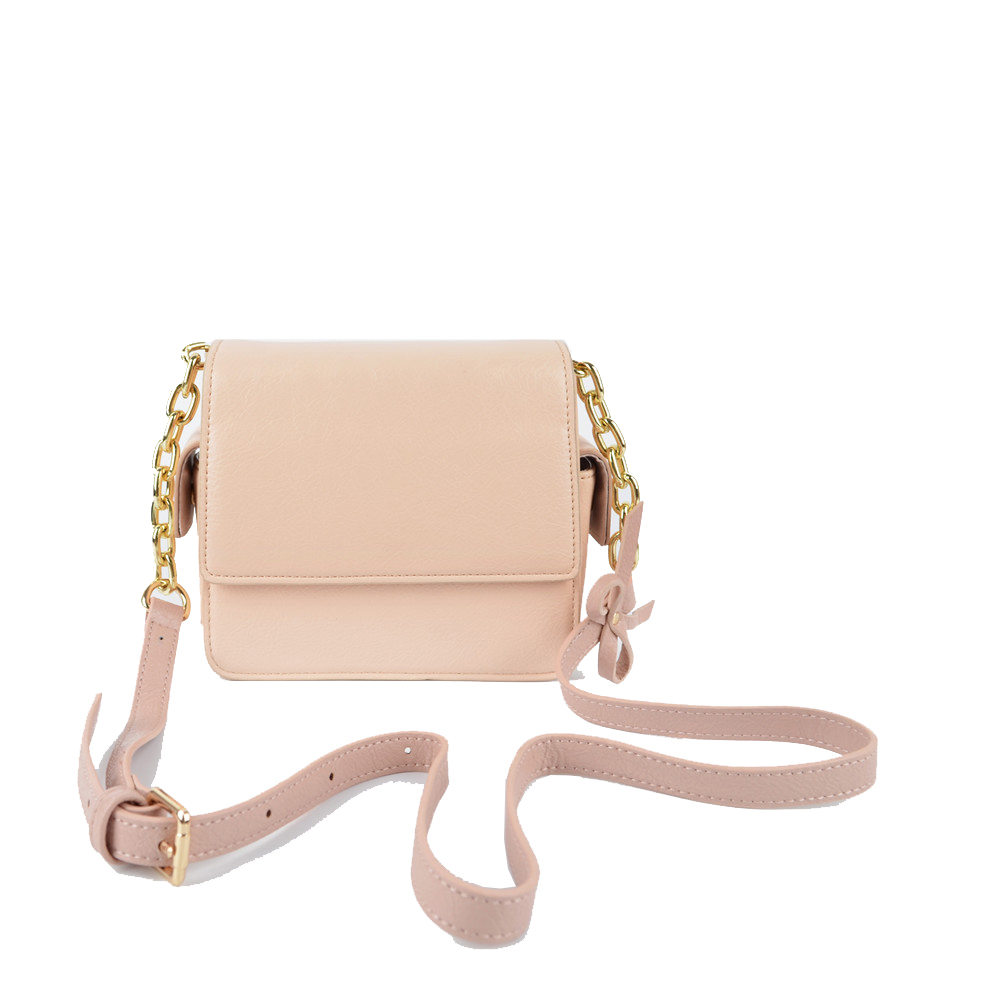 Pink Fashion Crossbody Handbag