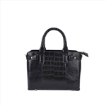Crocodile Female Fashion Mini Satchel Bag