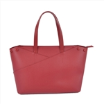 Simple Red Tote Bag Women Handbag
