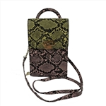 Vertical shoulder wallet bag phone case bag