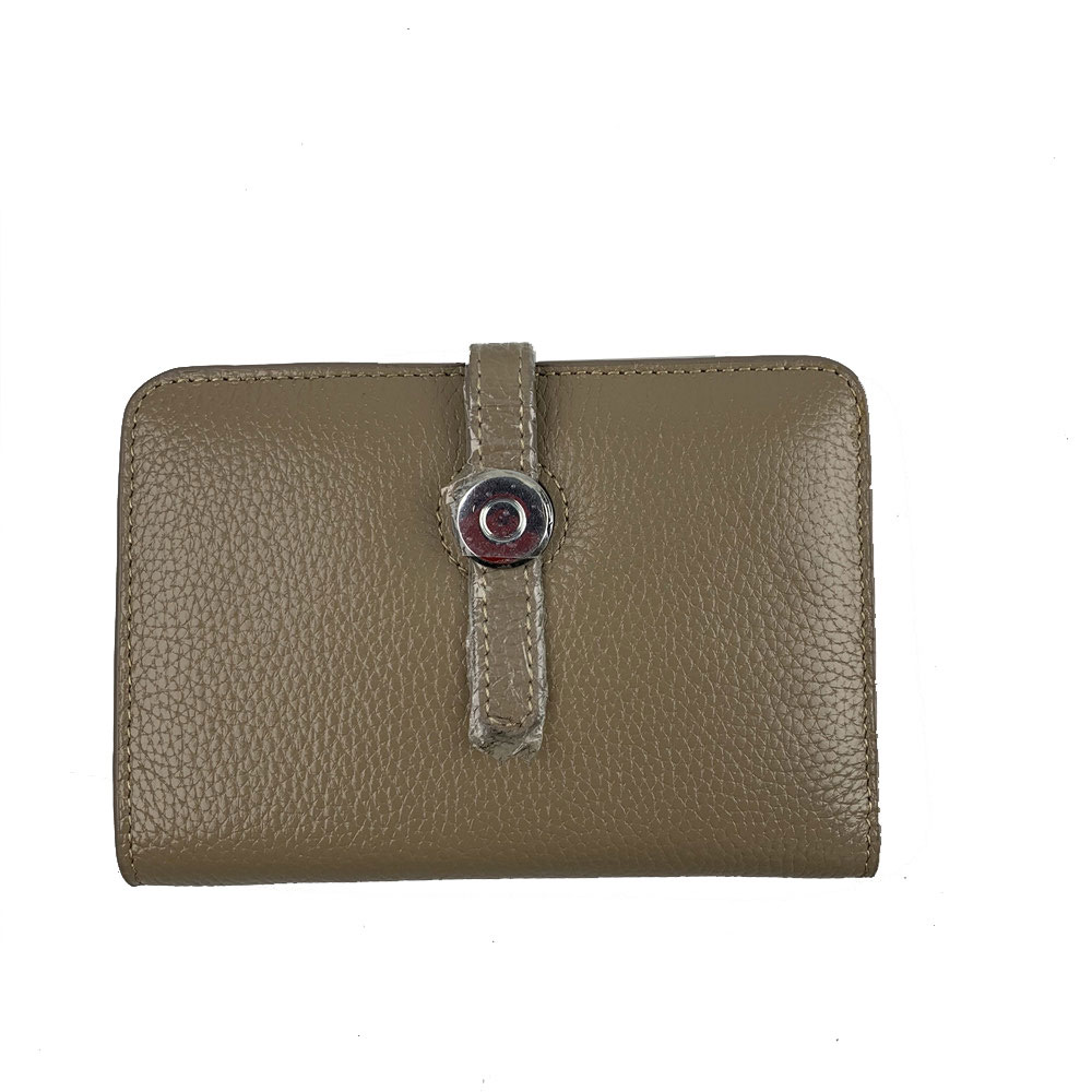 Genuine Leather Green Wallet