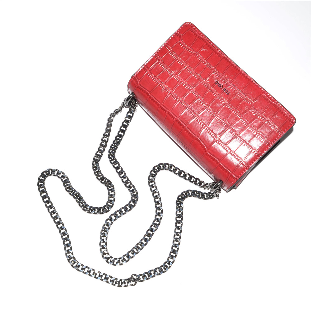 Mini Bag Metal Chain Crossbody Fashion Bag