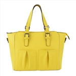 Lemon Yellow Fashion Computer Bag
