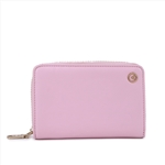 Zipper Around Wallet M Pink Wallet