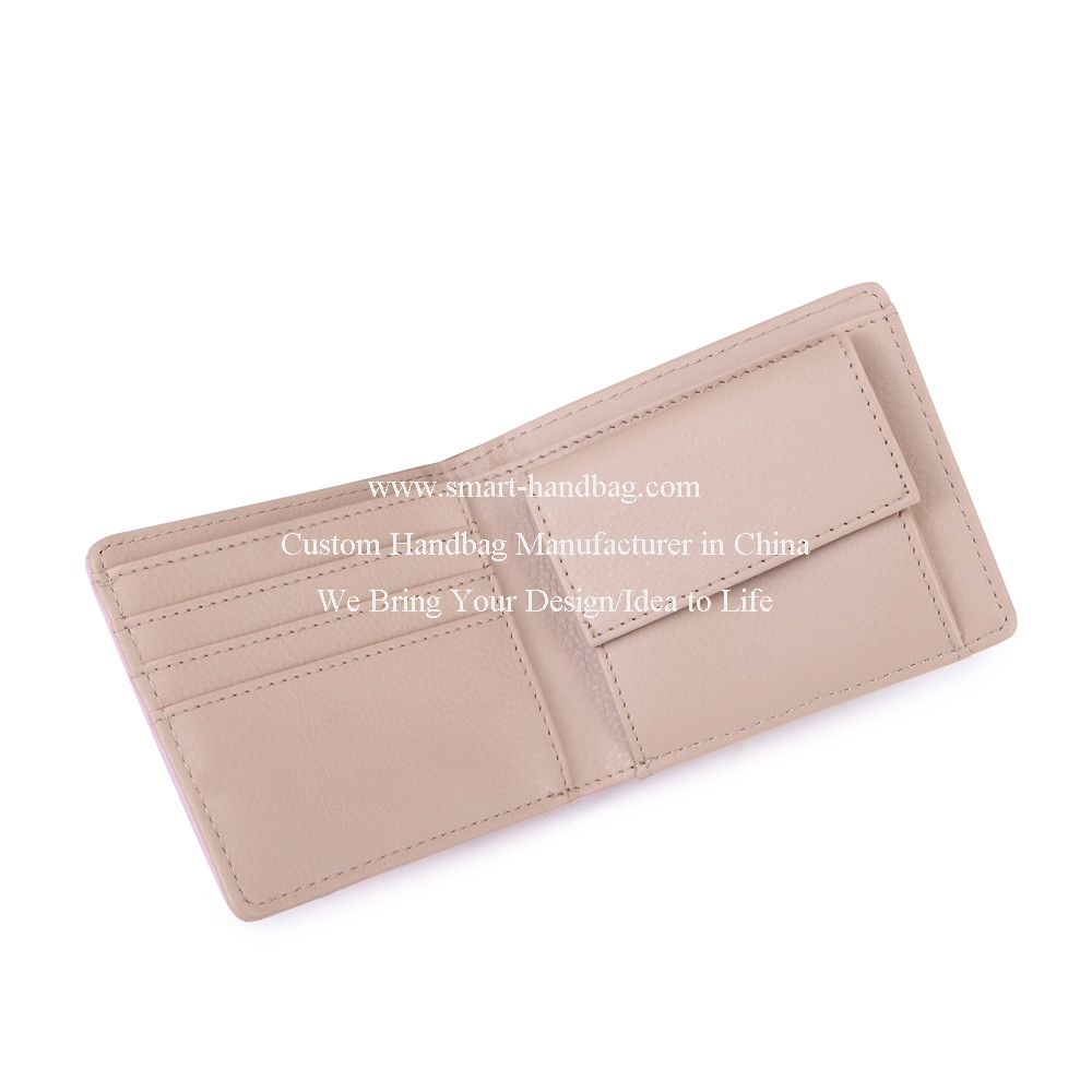 Folded Small Wallet Pink Wallet Simple Wallet