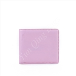 Simple Folded Small Pink Wallet with ODM/OEM