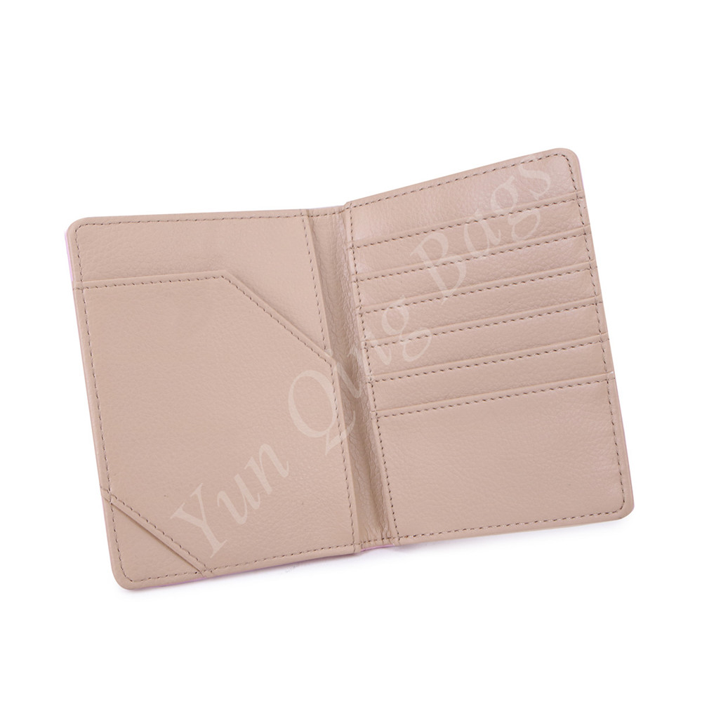Small Card Holder Wallet Pink Card Holder