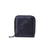 Zipper Around Wallet M Black Wallet